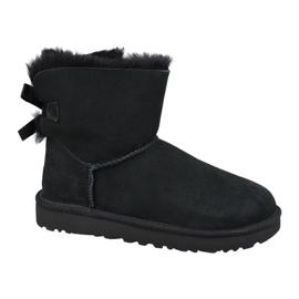 Ugg Mini Bailey Bow Ii W 1016501-BLK kengät musta