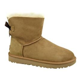 Ugg Mini Bailey Bow Ii W 1016501-CHE kengät ruskea