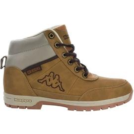 Kappa Bright Mid Jr 260239T 4141 kengät ruskea