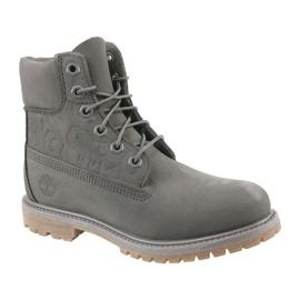 Timberland 6 Premium Boot W A1K3P -kengät harmaa