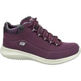 Skechers Ultra Flex W 12918-BURG kengät violetti