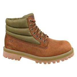 Skechers Serants Verno M 65838-CDB -kengät ruskea