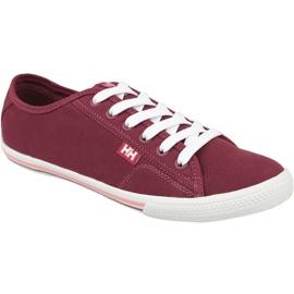 Helly Hansen Oslofjord Canvas W -kengät 10836-655 punainen