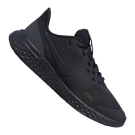 Nike Revolution 5 Gs Jr BQ5671-001 kengät musta