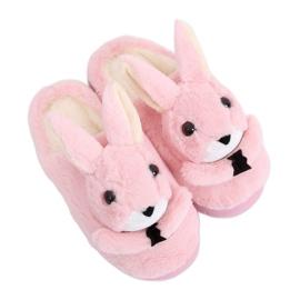 Bunnies naisten tohvelit vaaleanpunainen MA17 Pink pinkki