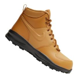 Nike Manoa Ltr Jr BQ5372-700 kengät ruskea