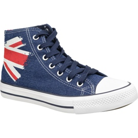 Lee Cooper High Cut 1 LCWL-19-530-041 kengät sininen
