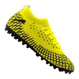 Puma Future 4.2 Netfit Mg M 105681-02 jalkapallokengät keltainen