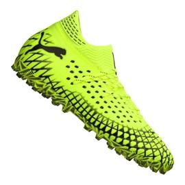 Puma Future 4.1 Netfit Mg M 105678-03 jalkapallokengät keltainen keltainen
