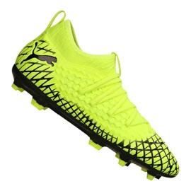 Puma Future 4.3 Netfit Fg / Ag Jr 105693-03 jalkapallokengät keltainen keltainen