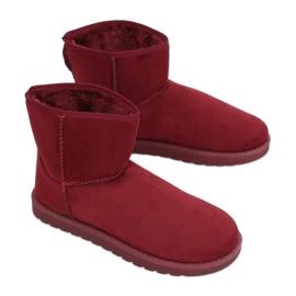 Lumisaappaat surkea claret C-08 Ed punainen