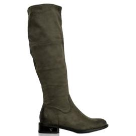 Suede Boots VINCEZA vihreä