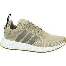 Adidas NMD R2 M BY9916 kengät ruskea