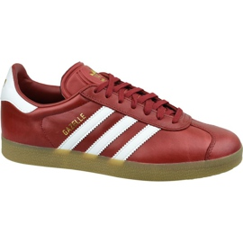 Adidas Gazelle W BZ0025 kengät punainen