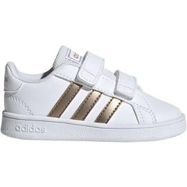 Adidas Grand Court I Jr EF0116 kengät valkoinen
