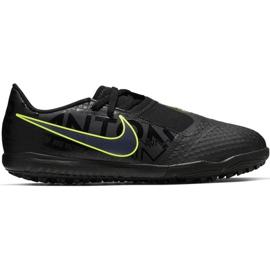 Nike Phantom Venom Academy Tf Jr AO0377 007 jalkapallokengät musta, vihreä musta