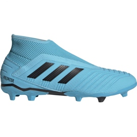 Adidas Predator 19.3 Ll Fg M G27923 jalkapallokengät musta, sininen sininen