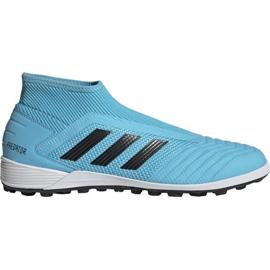 Adidas Predator 19.3 Ll Tf M EF0389 jalkapallokengät sininen musta, sininen
