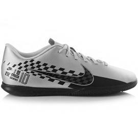 Nike Mercurial Vapor 13 Club Neymar M Ic AT7998 006 jalkapallokengät harmaa musta, harmaa / hopea