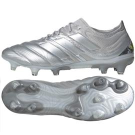 Adidas Copa 20.1 Fg M EF8316 jalkapallokengät hopea