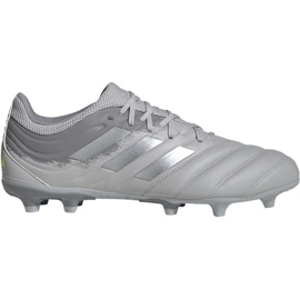 Adidas Copa 20.3 Fg M EF8329 jalkapallokengät harmaa
