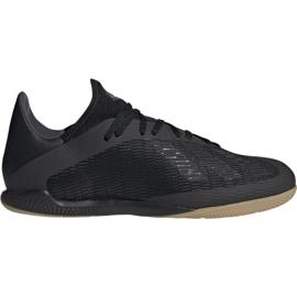 Adidas X 19.3 M F35369 jalkapallokengät musta musta