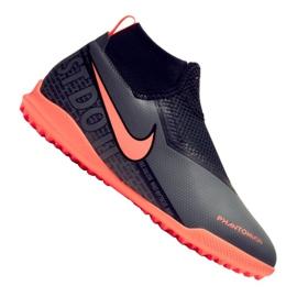 Nike Phantom Vsn Academy Df Tf Jr AO3292-080 jalkapallokengät musta