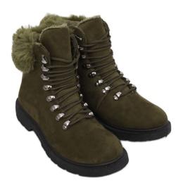 Vihreät naisten ansastajien kengät Y260-9 Green II Type