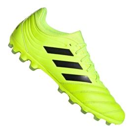 Adidas Copa 19.3 Ag Ig M EE8152 jalkapallokengät keltainen keltainen