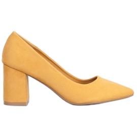 Seastar Tyylikäs pumppu keltainen
