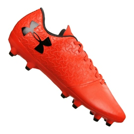 Under Armour Armor Magnetico Select Fg M 3000115-600 jalkapallokengät oranssi punainen