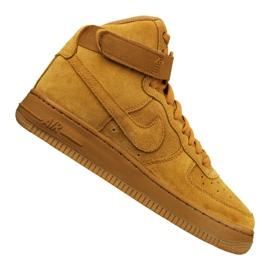 Nike Jr Air Force 1 High Lv 8 Gs Jr 807617-701 kengät keltainen