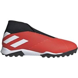 Adidas Nemeziz 19.3 Ll Tf M G54686 jalkapallokengät musta, punainen punainen