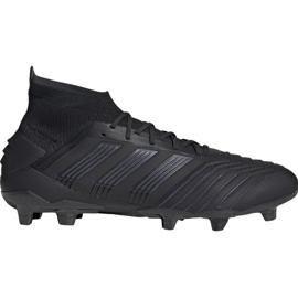 Jalkapallokengät adidas Predator 19.1 Fg M musta