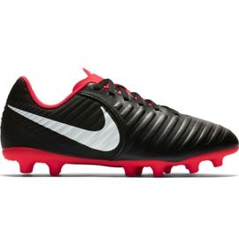 Nike Tiempo Legend 7 Club Mg Jr AO2300 006 jalkapallokengät musta