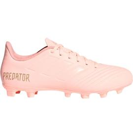 Adidas Predator 18.4 M FxG DB2008 jalkapallokengät pinkki pinkki