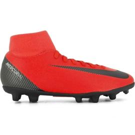 Nike Mercurial Superfly 6 Club CR7 Mg M AJ3545 600 jalkapallokengät punainen