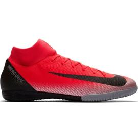 Nike Mercurial Superfly X 6 Academy CR7 Ic M AJ3567 600 jalkapallokengät musta, oranssi punainen