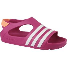 Adidas Adilette Play I Jr B25030 -sandaalit pinkki
