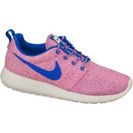 Nike Rosherun Print W 599432-137 kengät pinkki