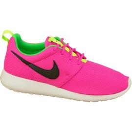Nike Rosherun Gs W 599729-607 kengät pinkki