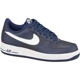 Nike Air Force 1 '07 M 488298-436 kengät laivasto