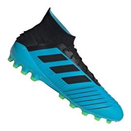 Adidas Predator 19.1 Ag M F99970 jalkapallokengät sininen sininen