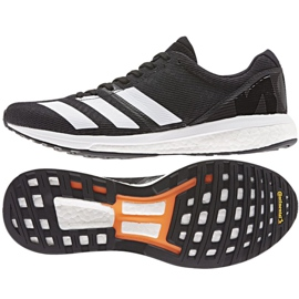 Adidas adizero Boston 8 m M G28861 juoksukengät musta