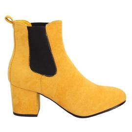 Keltainen Jodhpur-saappaat keltainen 2208-132 keltainen