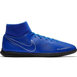 Nike Phantom Vsn Club Df Ic M AO3271 400 jalkapallokengät sininen sininen