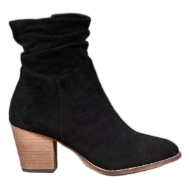 SHELOVET Casual Booties baarissa musta