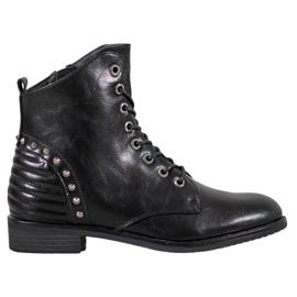 Tyylikkäät VINCEZA-saappaat musta