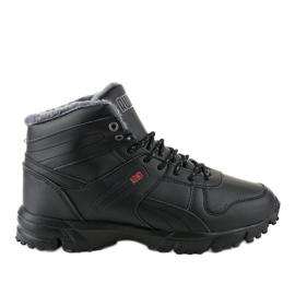 Mustat eristetyt kengät MC783-1
