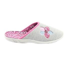 Befadon värilliset naisten kengät 235D155 harmaa
